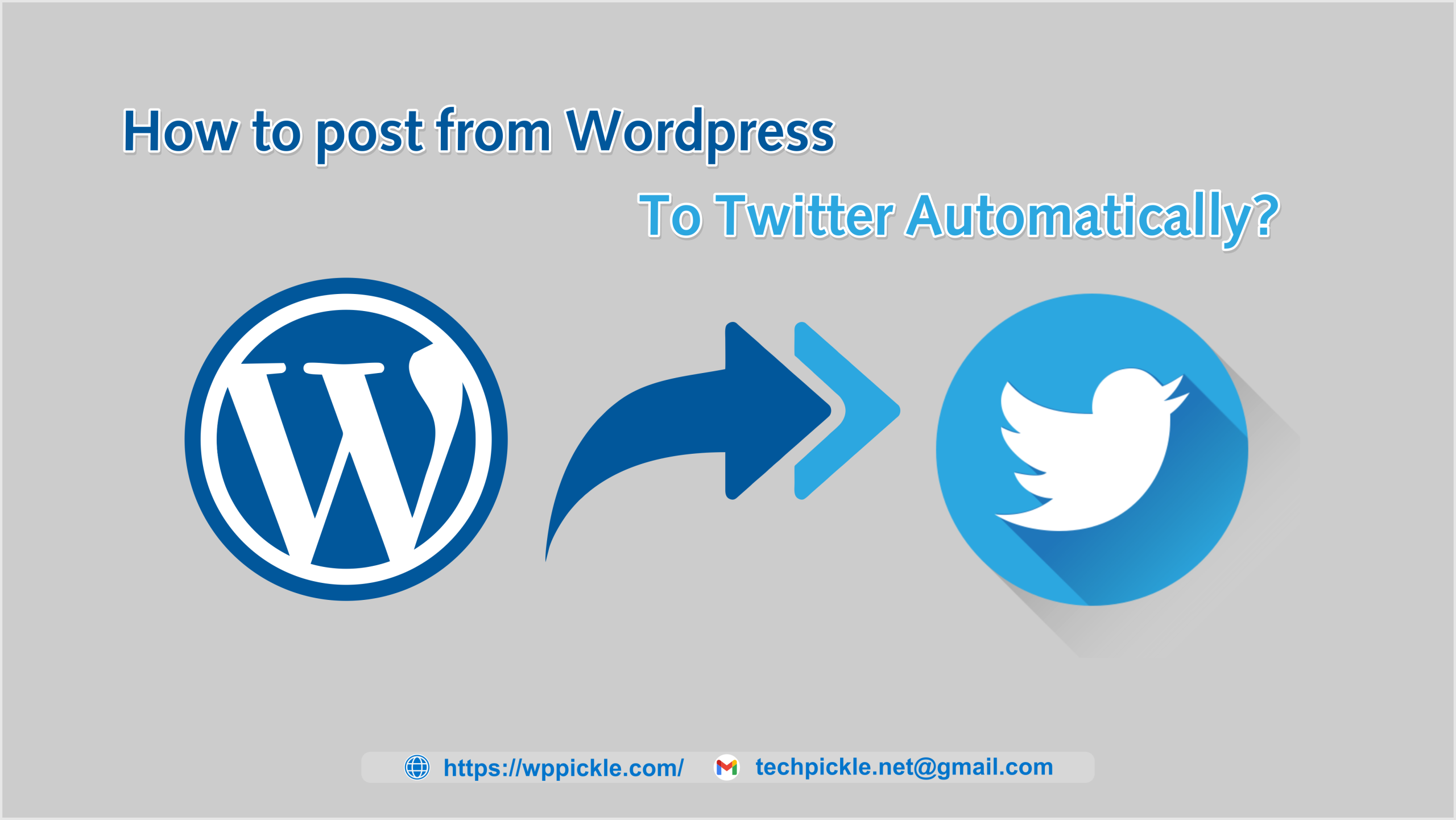 How to Share WordPress Blog Posts Automatically to Twitter